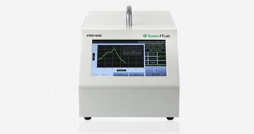 FRD1600 : 연구용 / 공공시설 점검용, 고정밀 실시간 라돈측정기