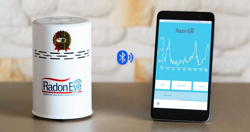 라돈아이 : 국내최초 스마트 실내 라돈가스 감지기